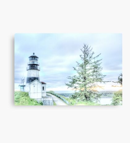 Lighthouses Of Washington State Metal Print