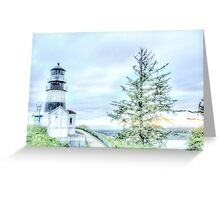 Lighthouses Of Washington State Greeting Card