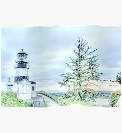 Lighthouses Of Washington State Poster