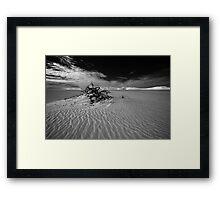 Desolate dunes, Australia Framed Print