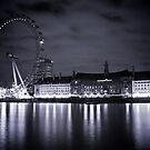 London Eye @ nite by Daniel Chang