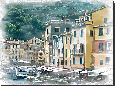 Portofino Italy by Colin Metcalf