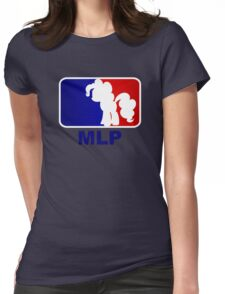 Major League Pony (MLP) - Pinkie Pie Womens Fitted T-Shirt