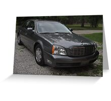 2005 Cadillac Deville Greeting Card