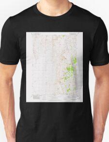 USGS Topo Map Oregon Mahon Creek 280625 1973 24000 T-Shirt