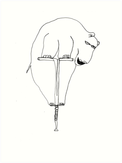 hippopotamus by dthaase