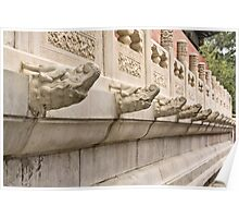 The Forbidden City - Series C - Murals and Carvings 3 Poster
