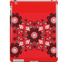 Red Flame Bandana iPad Case/Skin
