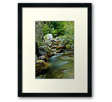Olympos Mountain Enipeas River Framed Print