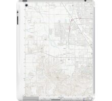 USGS Topo Map Oregon Eugene West 20110831 TM iPad Case/Skin