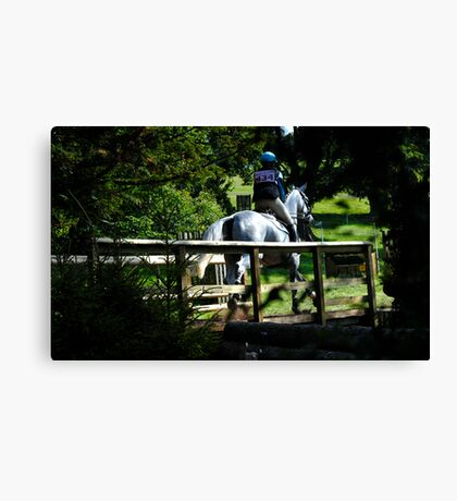 Out of the Forest & Over the Bridge Canvas Print