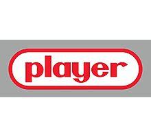 Player Photographic Print