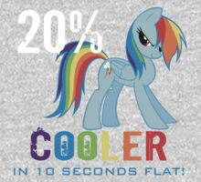 20% cooler in 10 seconds flat Kids Clothes