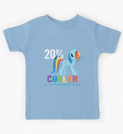 20% cooler in 10 seconds flat Kids Tee