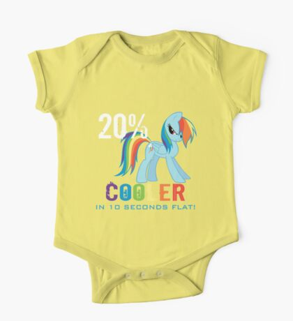 20% cooler in 10 seconds flat One Piece - Short Sleeve