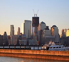 1 World Trade Center (aka the Freedom Tower)  by pmarella