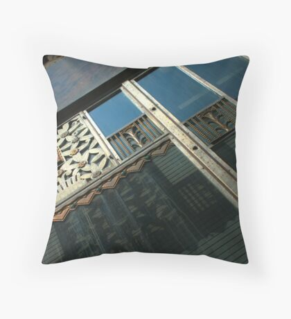 Cincinnati Bell Building Throw Pillow