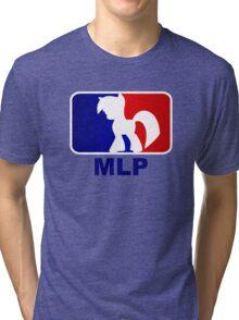Major League Pony (MLP) - Twilight Sparkle Tri-blend T-Shirt