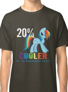 20% cooler in 10 seconds flat! Ladies Classic T-Shirt