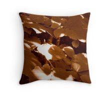 Summer Shadows in Sepia  ^ Throw Pillow