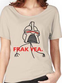 FRAK YEA. Women's Relaxed Fit T-Shirt