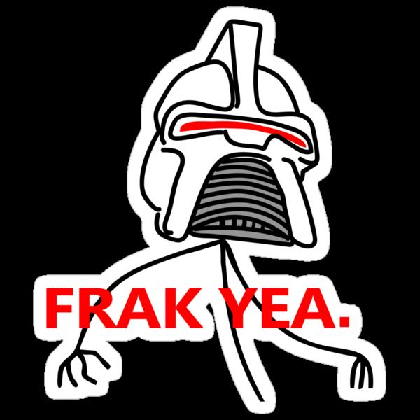 FRAK YEA. by D4N13L