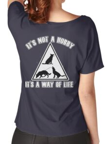IPO for black background Women's Relaxed Fit T-Shirt