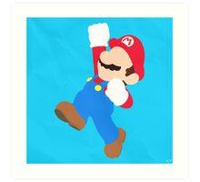 Mario (Simplistic) Art Print