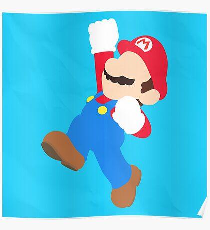 Mario (Simplistic) Poster