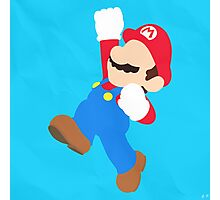 Mario (Simplistic) Photographic Print