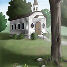 The Old Country Church by Christopher Gaines