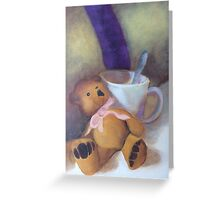 Tea for Ted Greeting Card
