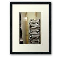 Study Time Framed Print