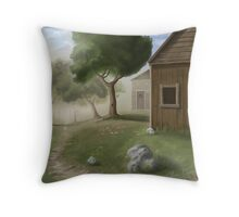 That Path that Leads to the Light Throw Pillow