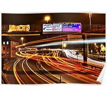 Rush Hour Ring Road Poster