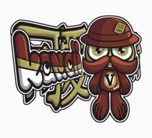 Victorian Mascot Tag Kids Tee