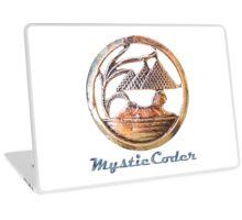 MysticCoder Logo &  Clear Amulet Laptop Skin
