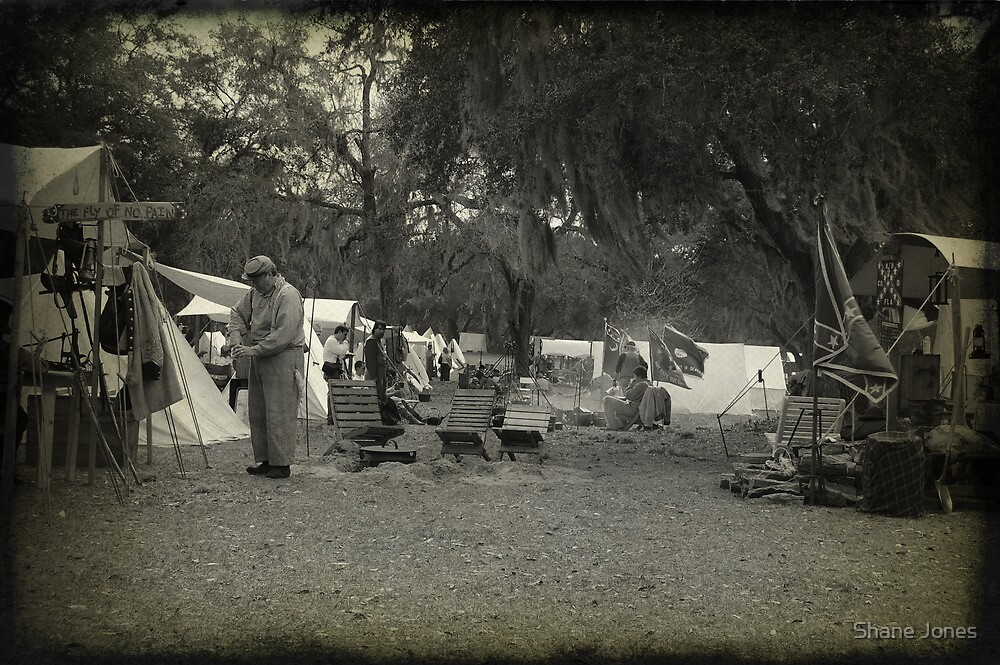 Civil War Encampment by Shane Jones