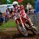 Motocross rider #2 by Paul Woloschuk