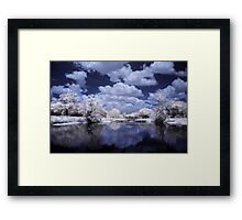 Happy Clouds Framed Print