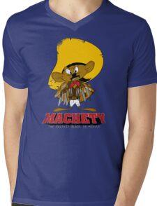 MACHETY - the fastest Blade in Mexico Mens V-Neck T-Shirt