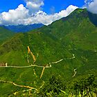 Road to Dien Bien Phu, Vietnam. by bulljup