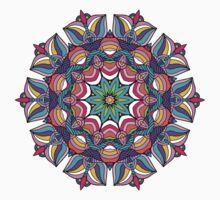 Art Love Passion - Mandala Kids Tee