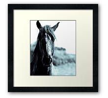 As Tough As I Look Framed Print