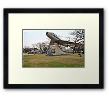 Retired Air Force Aircraft Framed Print