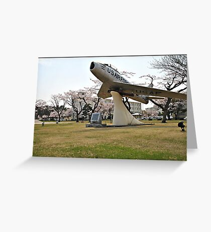 Retired Air Force Aircraft Greeting Card
