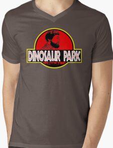 Sanspants Radio - Dinosaur Park Mens V-Neck T-Shirt