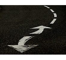 2 arrows 4 lines Photographic Print