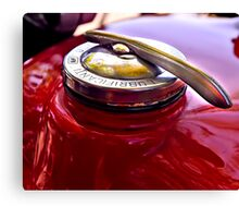 Gas Cap Canvas Print