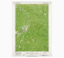 USGS Topo Map Oregon Vernonia 282997 1955 62500 Baby Tee